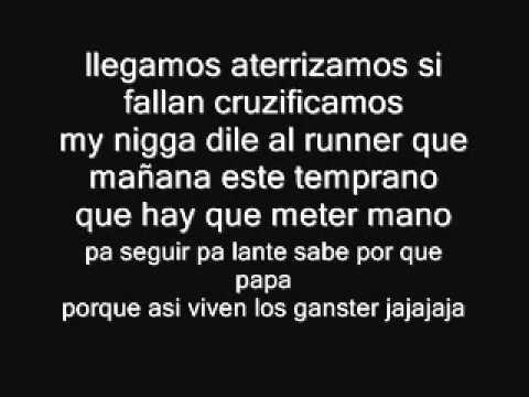 (LETRA)Somos Gansta- Ñengo Flow