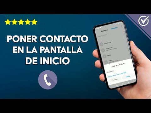 Cómo Poner un Contacto en la Pantalla de Inicio de Android o iPhone para Llamar Rápido
