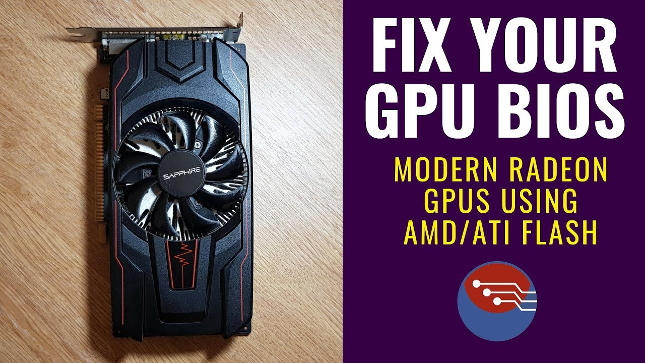 How to Fix your Modern GPU BIOS - BRICKED / MINING BIOS / UNBRICK GPU