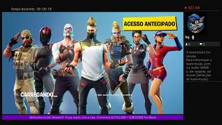 Live: Fortnite: Batle Royal #1 - 1st Time Playing