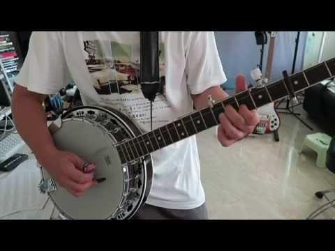 The Dillards - Doug's Tune - banjo part as played by Doug Dillard