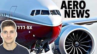 777-8X wird erst einmal nicht gebaut! AeroNews