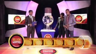 Billion Lotto Draw - 2016 APRIL 30