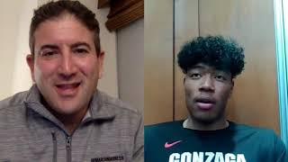Rui Hachimura interview on game-winning shot over Washington, バスケットボール 八村塁 インタビュー 勝利につながったシュートについて