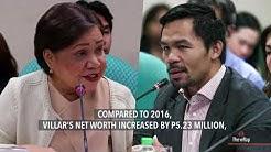 Villar, Pacquiao remain richest senators in 2017
