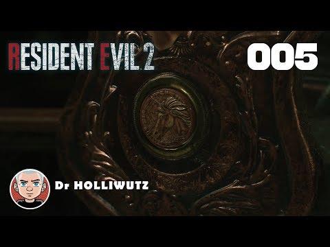 Resident Evil 2 Remake #005 - Das Einhorn [PS4] Let's Play Resident Evil 2