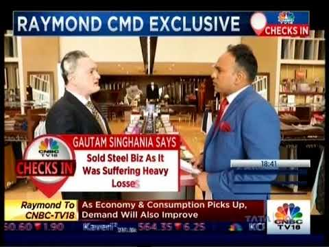 Gautam Singhania interview with CNBC