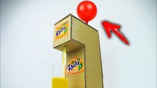 How to Make Fanta Soda Fountain Machine Using Balloon