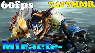Dota 2 - Miracle- new top 1 MMR europe plays Slark - Ranked Match!