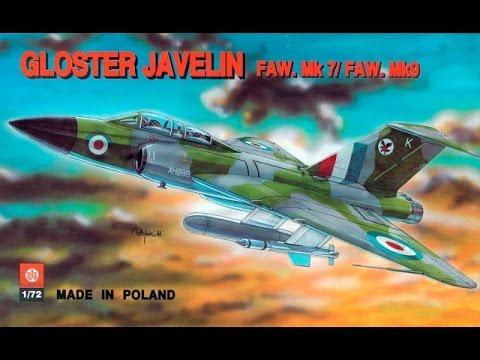 ZTS (FROG, Novo) 1/72 Gloster Javelin FAW. Mk. 7/9 InBox ...