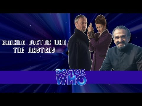 Ranking Doctor Who #5: The Masters