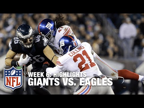 Giants vs. Eagles | Week 6 Highlights | NFL