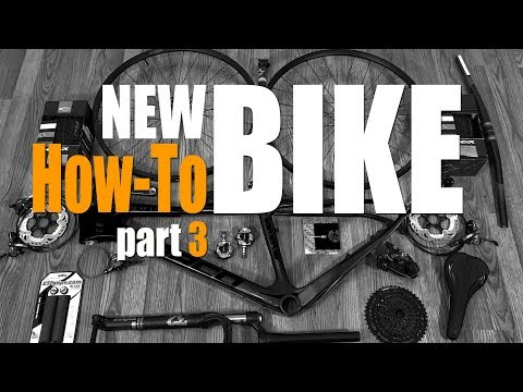 How-To Build A Bike From Scratch - Part 3 - Brakes, Drivetrain Installation
