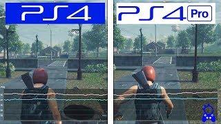 H1Z1 Battle Royale | PS4 / PS4 Pro| FRAMERATE TEST | FPS Comparison