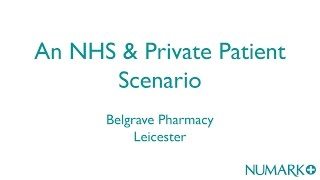 Flu vaccinations in pharmacy - an NHS & private scenario