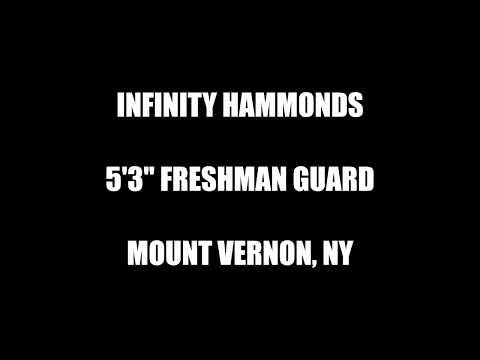 Infinity Hammonds 1st half season highlights SUNY Sullivan