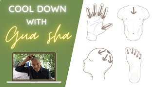 Great Gua sha techniques to cool down!