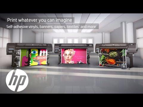 Latex Boya bazlı Dijital baskı makinelerinde , HP'nin rakipleri artıyor mu ? - Makine açısından