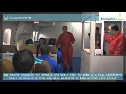 Garuda Indonesia   Airline Safety Training