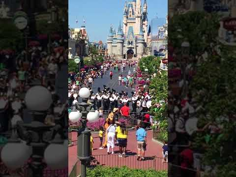 Linganore High School Marching Band at Disney 2018