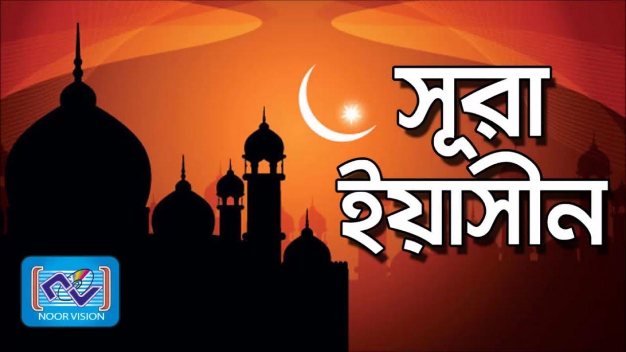 Sura Yasin | সূরা ইয়াসিন | with Bangla Torjoma