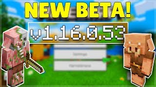 Mcpe 1 16 0 53 Beta Nether Update Minecraft Pocket Edition Old Bugs Fixed More Youtube