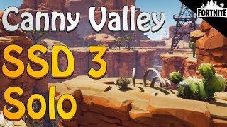 FORTNITE - Canny Valley SSD 3 Solo Without Using Weapons