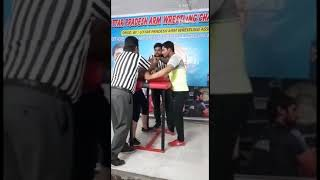 Haider Ali: Up state armwrestling champ weionship in Agra , :