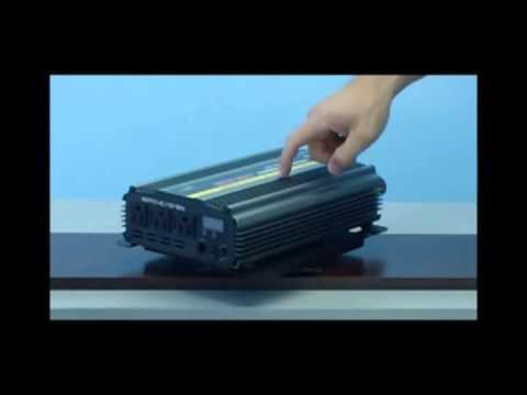 1500 Watt Power Inverter 12 Volt DC to 120 Volt AC