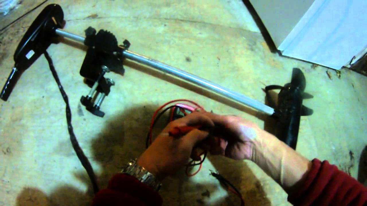 motorguide 54lbs 12 volts how to check continuity of a trolling motor using a multimeter [ 1280 x 720 Pixel ]