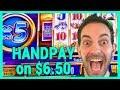 🖐️JACKPOT HANDPAY on $6.50 Bet ✦ BCSlots #AD