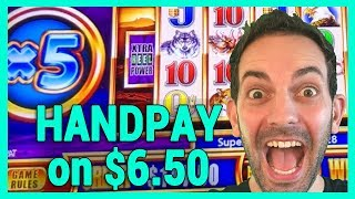 🖐️JACKPOT HANDPAY on $6.50 Bet ✦ BCSlots #AD
