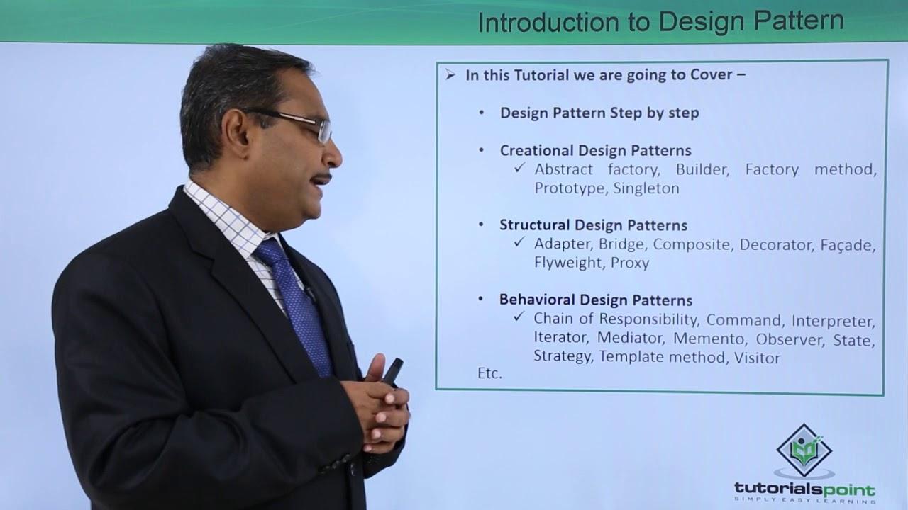 Tutorialspoint Design Patterns