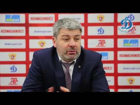 Пресс-конференция после третьего матча 14 финала Динамо СПб - Торпедо 16.03.2017