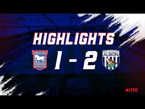 HIGHLIGHTS | Town 1 West Brom 2