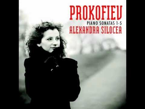 Prokofiev Piano Sonata No. 4 Op. 29, III Mov (Alexandra SILOCEA, Piano)