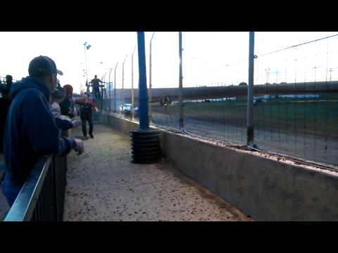 Modified hot lap at marysville raceway park