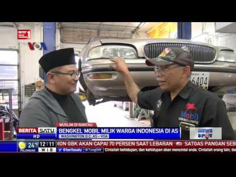 Mengintip Bengkel Mobil Milik Warga Indonesia di AS