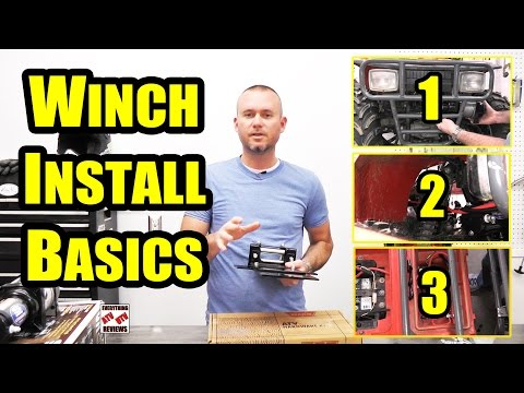 HOW TO INSTALL an ATV WINCH