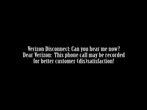Verizon Disconnect