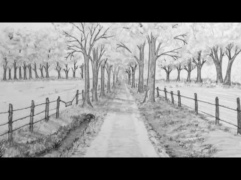 Back Road Stroll - Mr Ed Draws Live