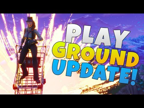 Playground Mode Permanent & More | Fortnite Battle Royale News