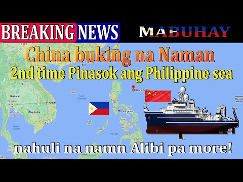 BREAKING NEWS China survey Ship Intrusion, in PHILIPPINE waters, detected again Research lang kaya?