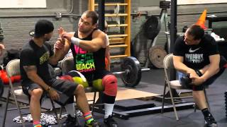 Dmitry Klokov & Ilya Ilyn - CrossFit LIC