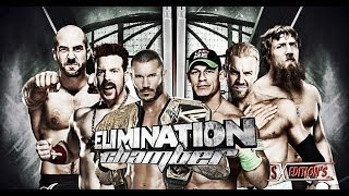 WWE Elimination Chamber 2014 Full Show Predictions