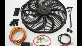 como instalar un ventilador electronico pick up s10 96