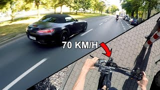 70 km/h Na Hulajnodze Elektrycznej