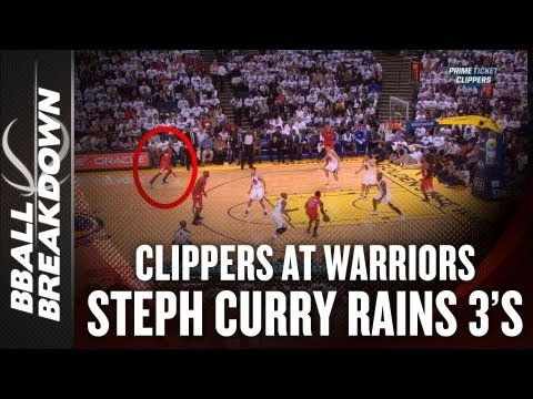 2012-13 Clippers at Warriors: How Steph Curry and David Lee Lit the Clips Up