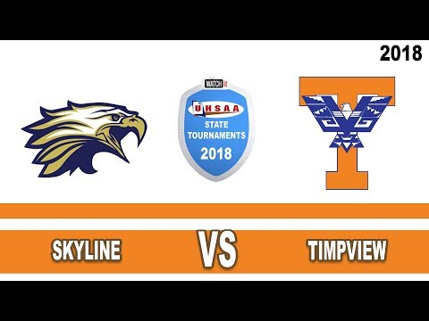 5A Boys Basketball: Skyline vs Timpview High School UHSAA 2018 State Tournament Round 1