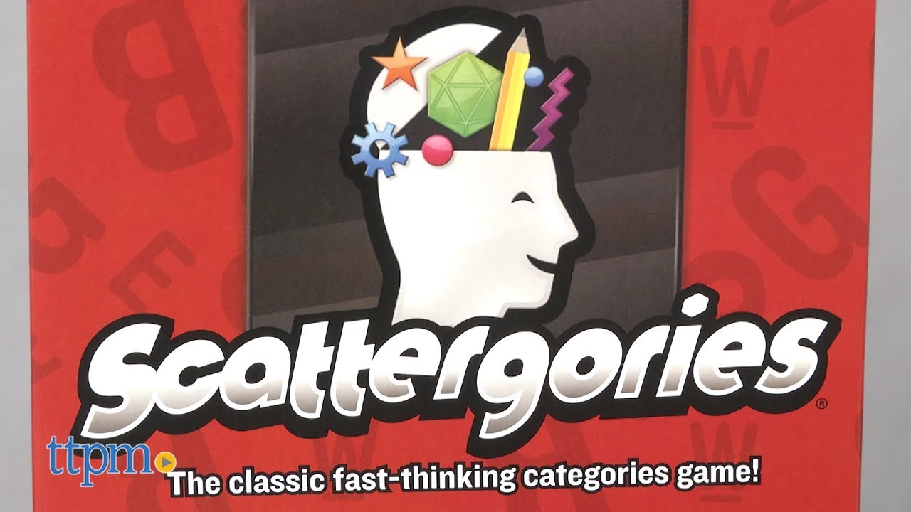Scattergories From Hasbro Youtube